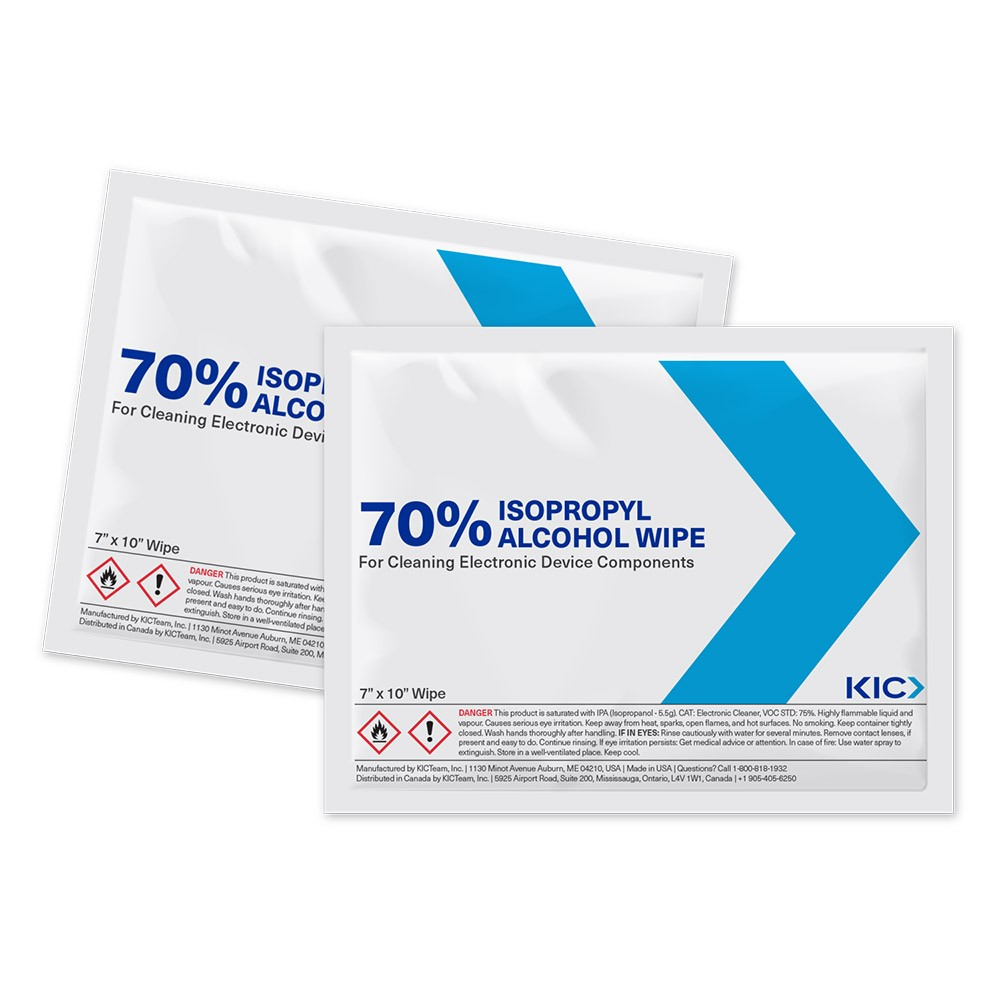 KICWipes for Electronics with Isopropyl Alcohol - Large Wipes