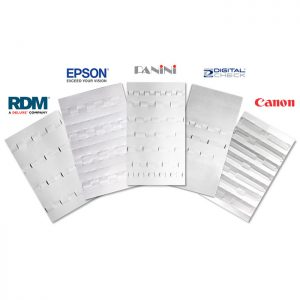 OEM Approved Check Scanner Cleaning Cards