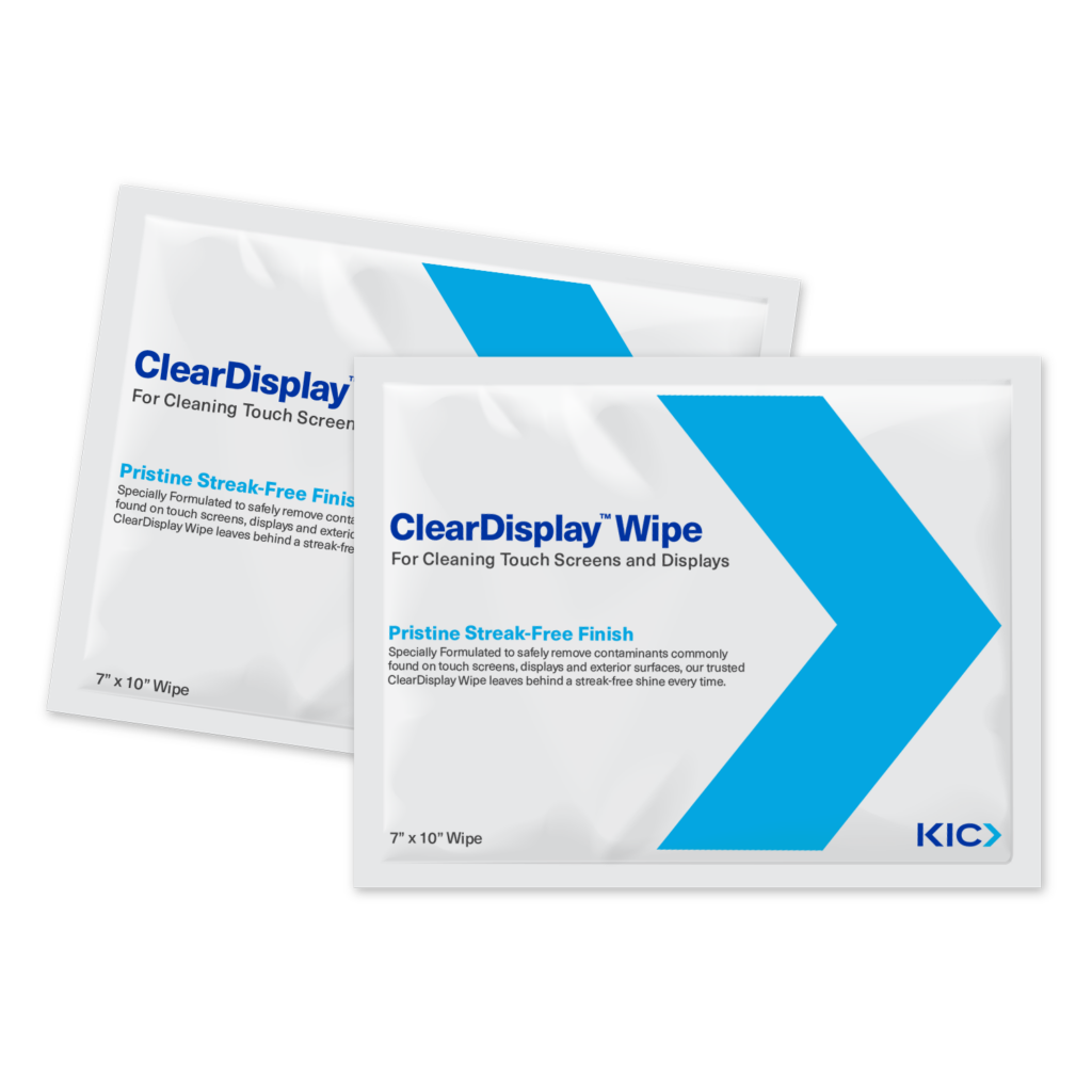 ClearDisplay Cleaning Wipes for Screens, Monitors & Tablets