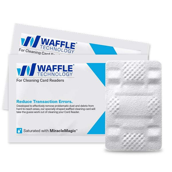 Waffletechnology for Cleaning Card Readers with MiracleMagic